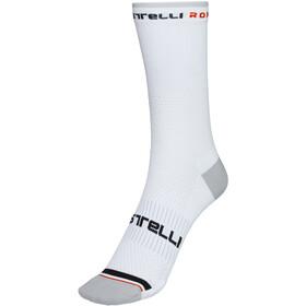 Castelli Rosso Corsa Pro 15 Socks Men, blanco